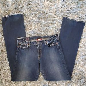 Lucky Brand Blue Bootcut Jeans Size 12